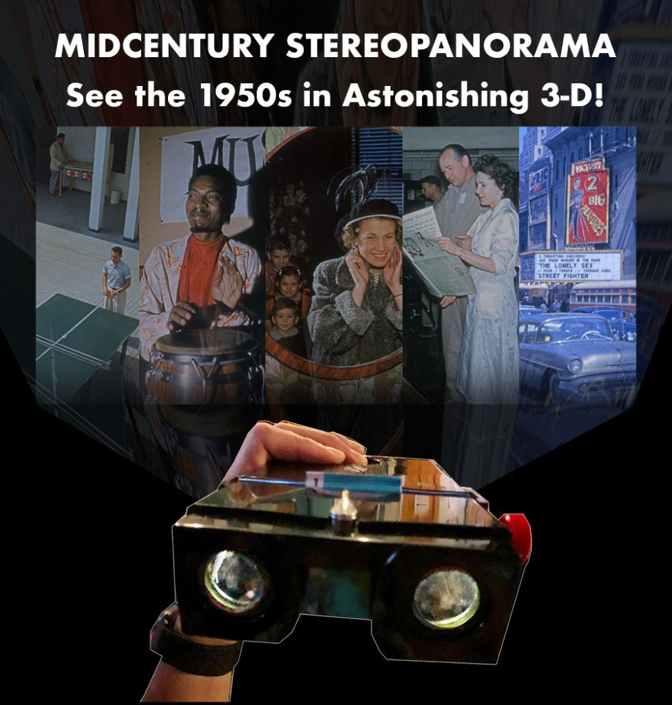 Stereopanorama-rama at the City Reliquary